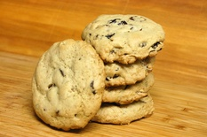 Chocolate Chip Everything Cookies